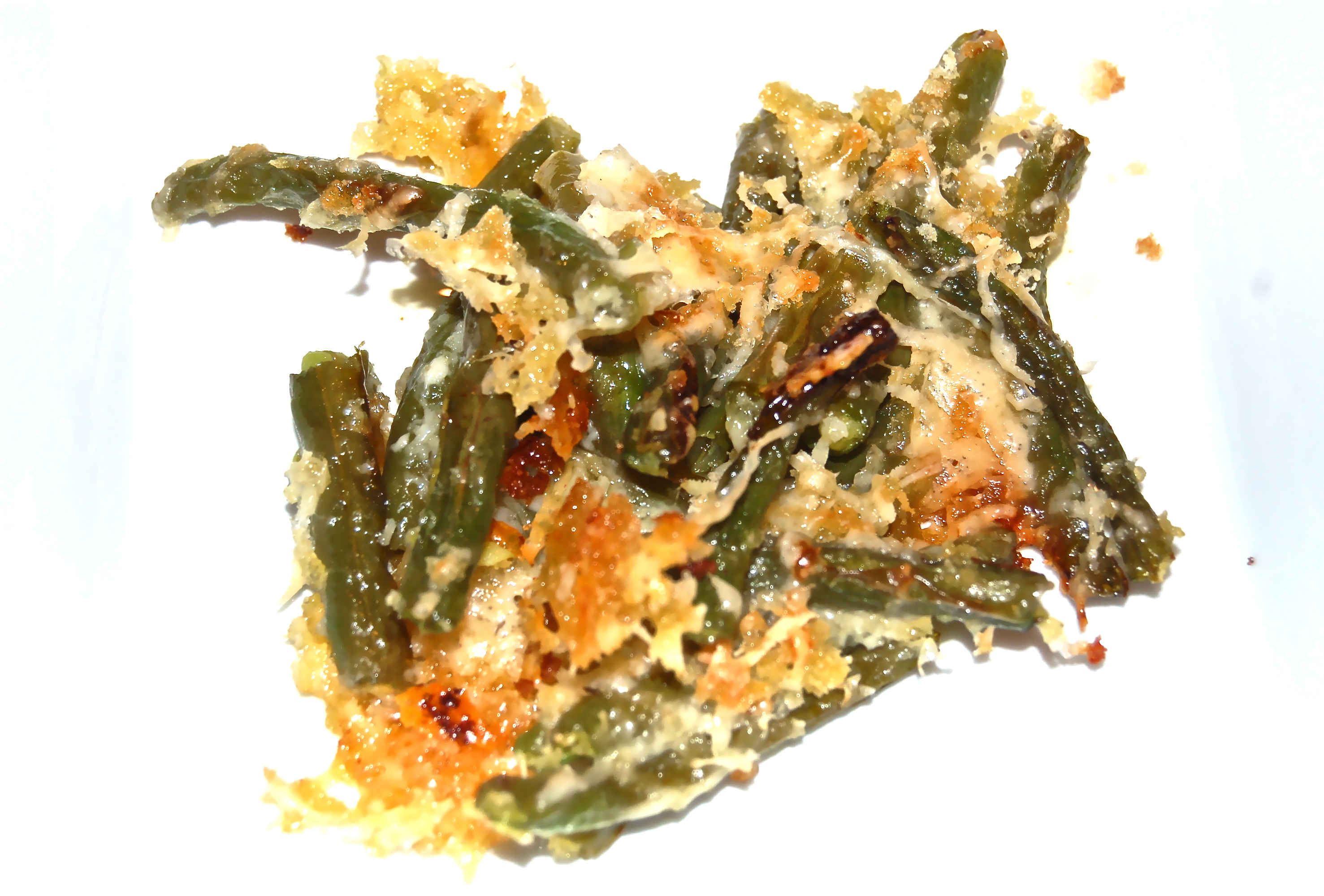 ... 2011 Green Beans Roasted with Bread Crumbs and Grated Parmesan Cheese