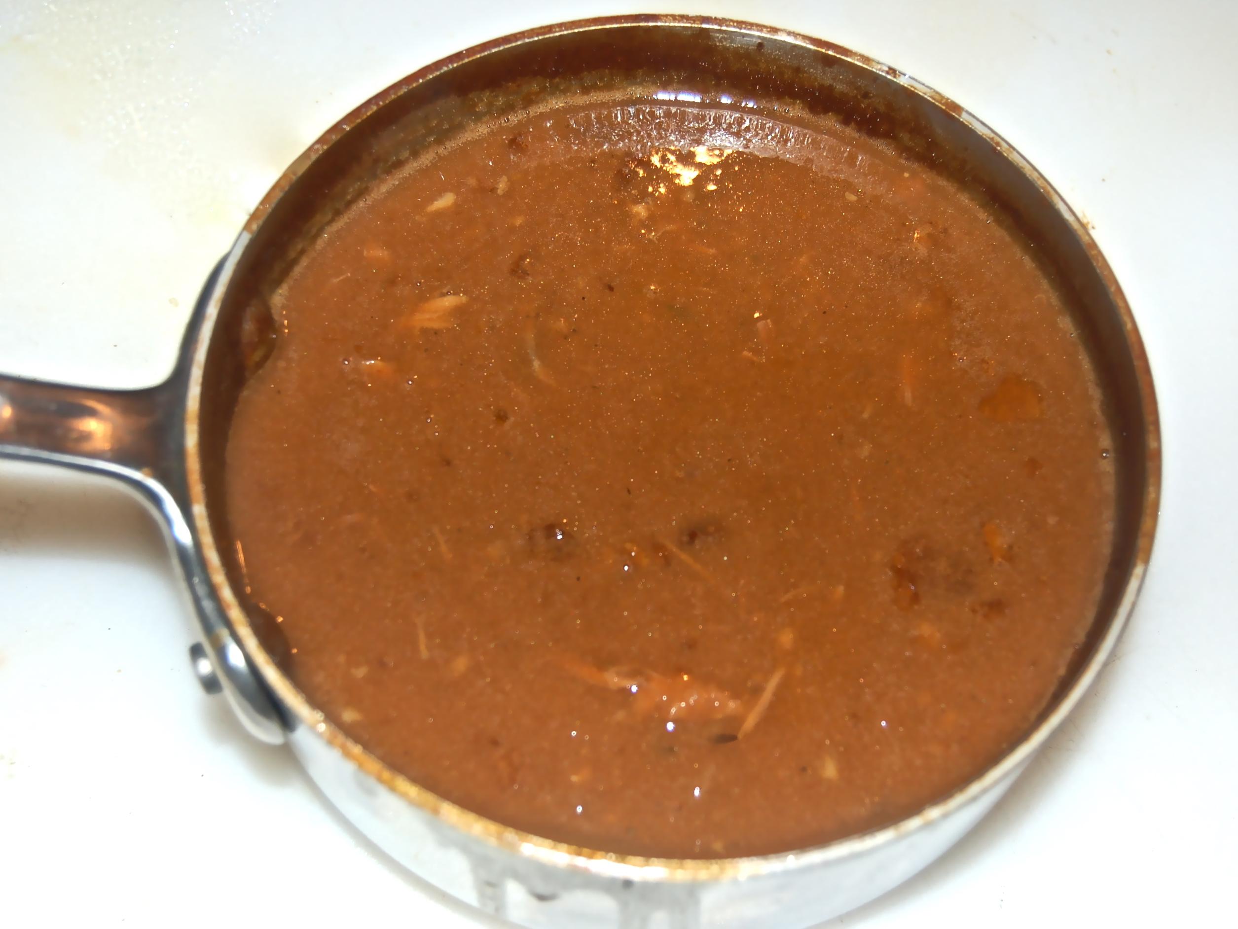 November 25, 2011 Turkey And Giblet Gravy