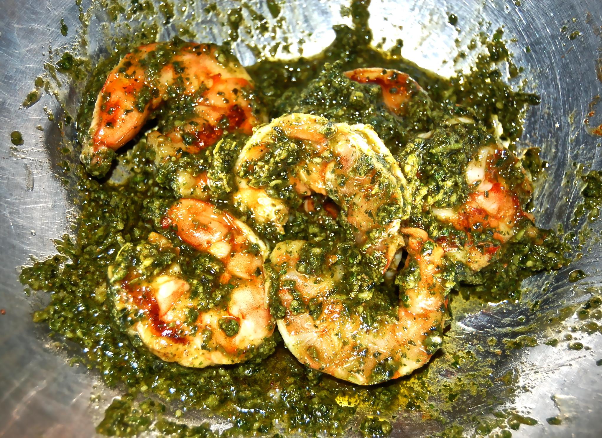 Basil Pesto Pasta Recipe With Shrimp Clinic