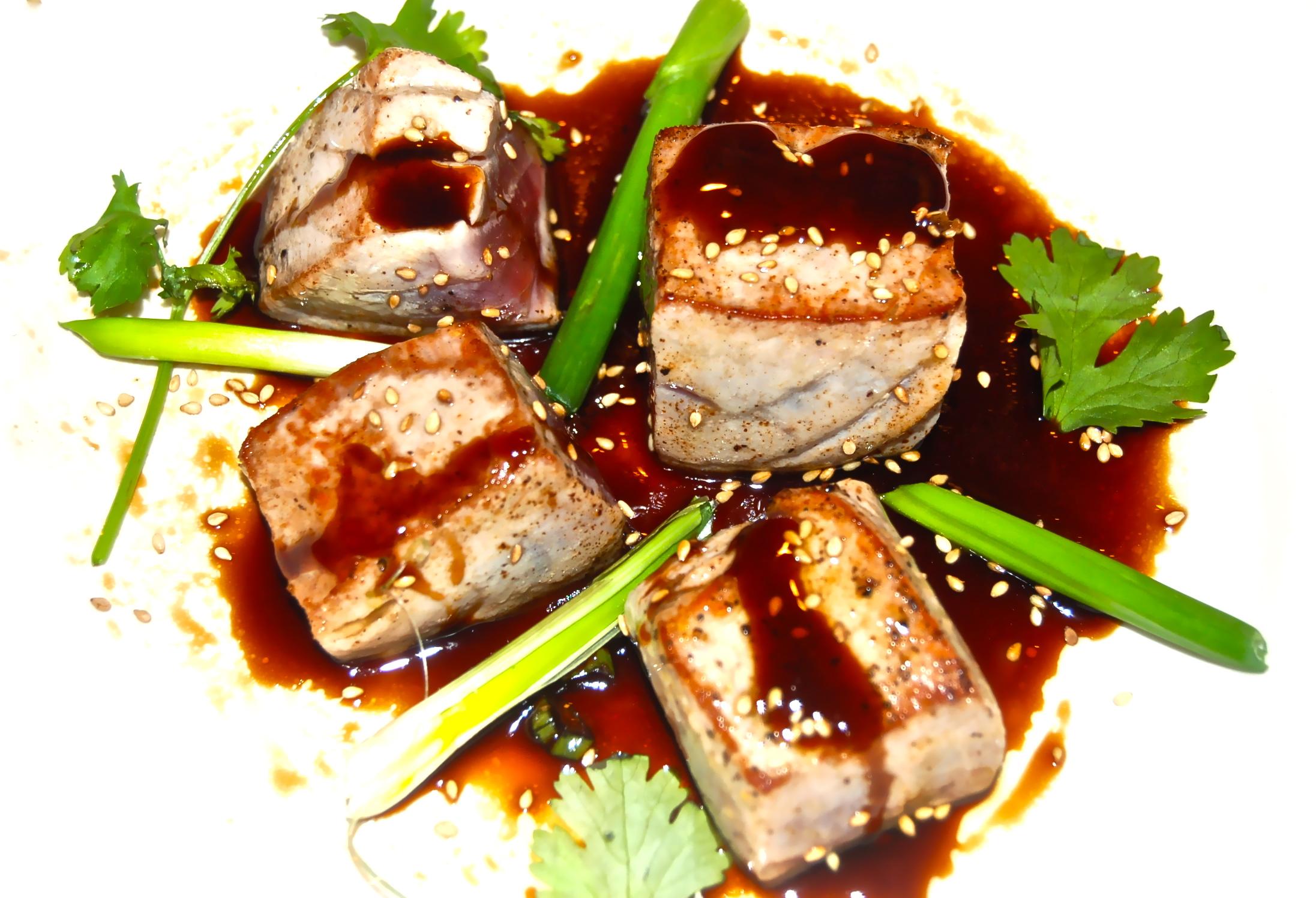 Sushi grade tuna recipes bing images for Sushi grade fish