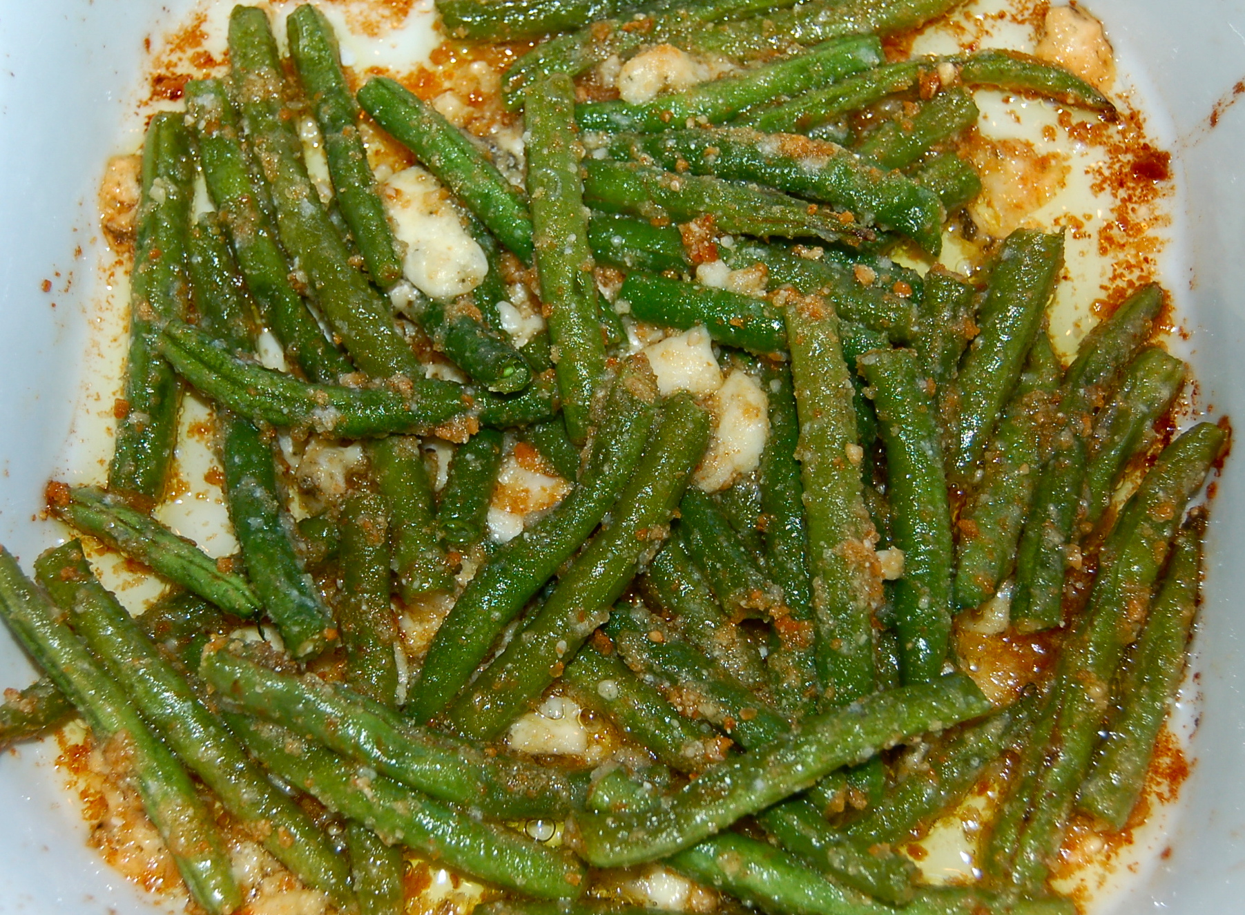 Green Beans With Parmesan Bread Crumbs Recipes — Dishmaps