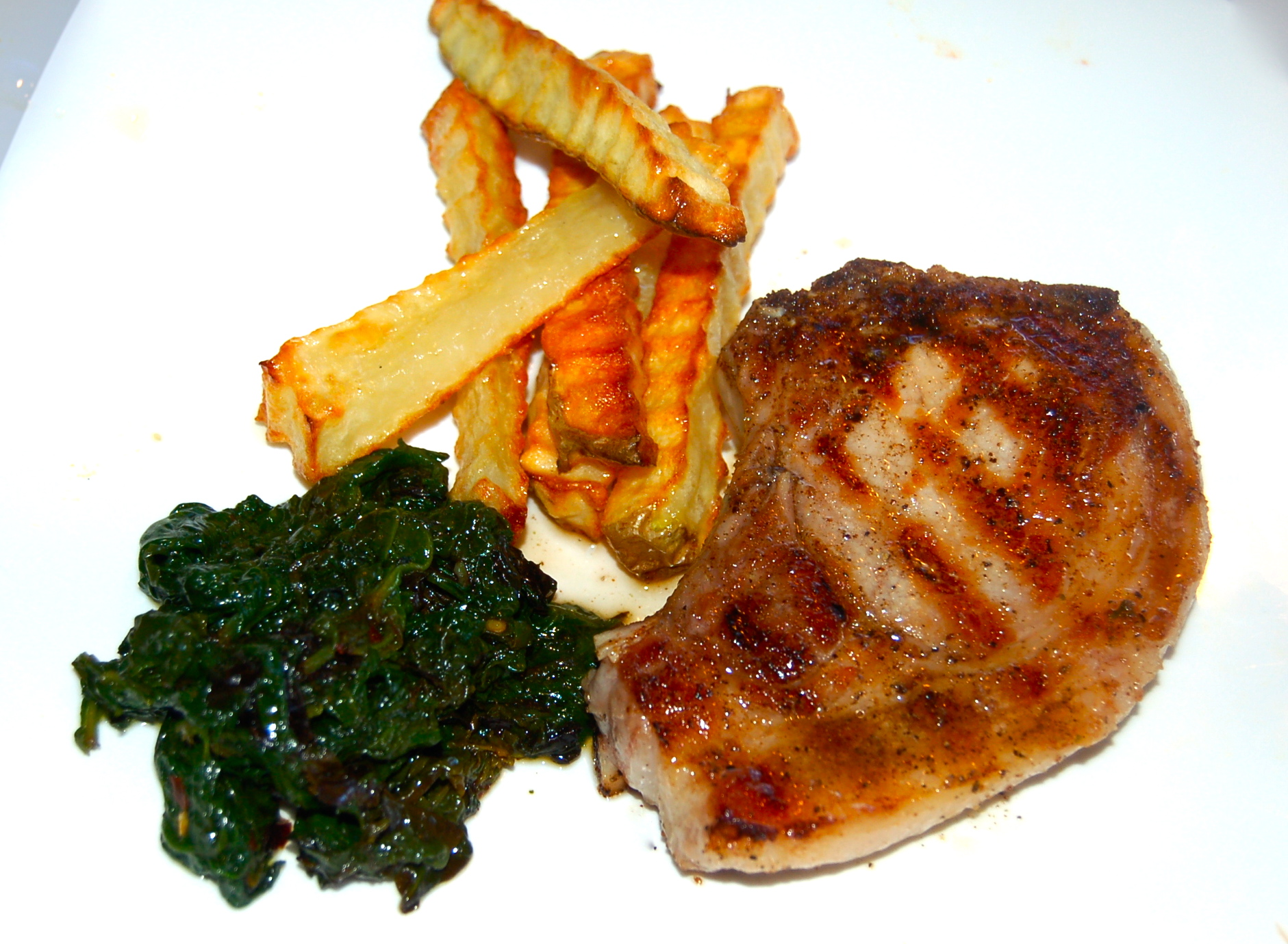 how to cook pork rib chops on stove