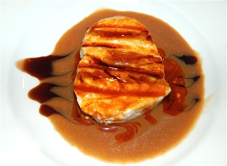 Swordfish On A Bed Of Balsamic Butter Sauce