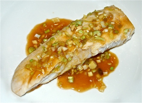 Red Snapper with Asian Sauce